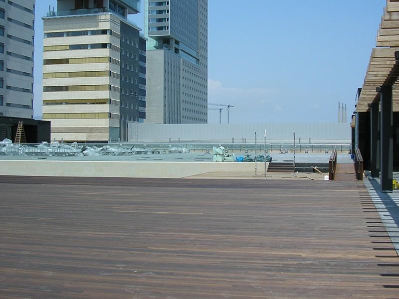 piscina terraza hilton diagonal mar (12)