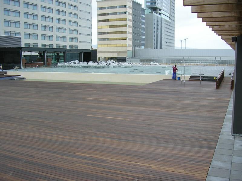 piscina terraza hilton diagonal mar (15)