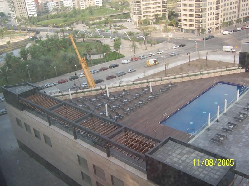 piscina terraza hilton diagonal mar (2)