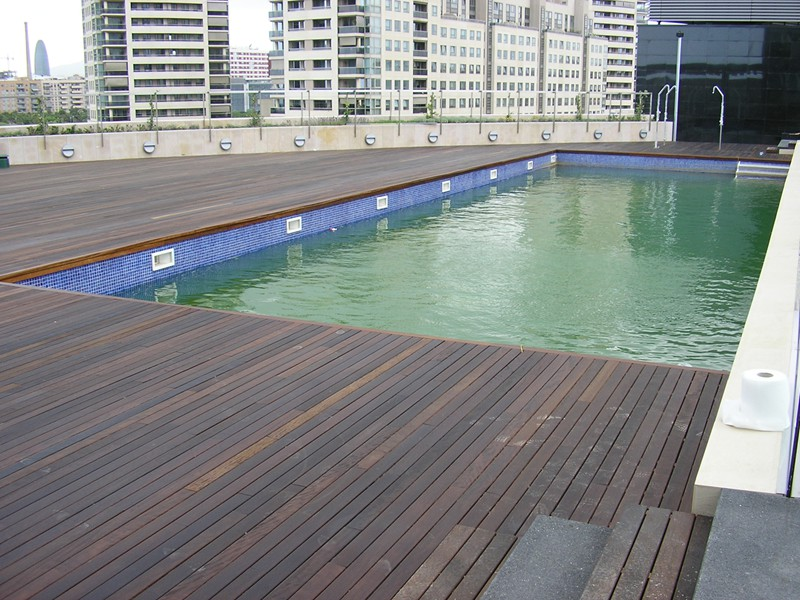 piscina terraza hilton diagonal mar (23)