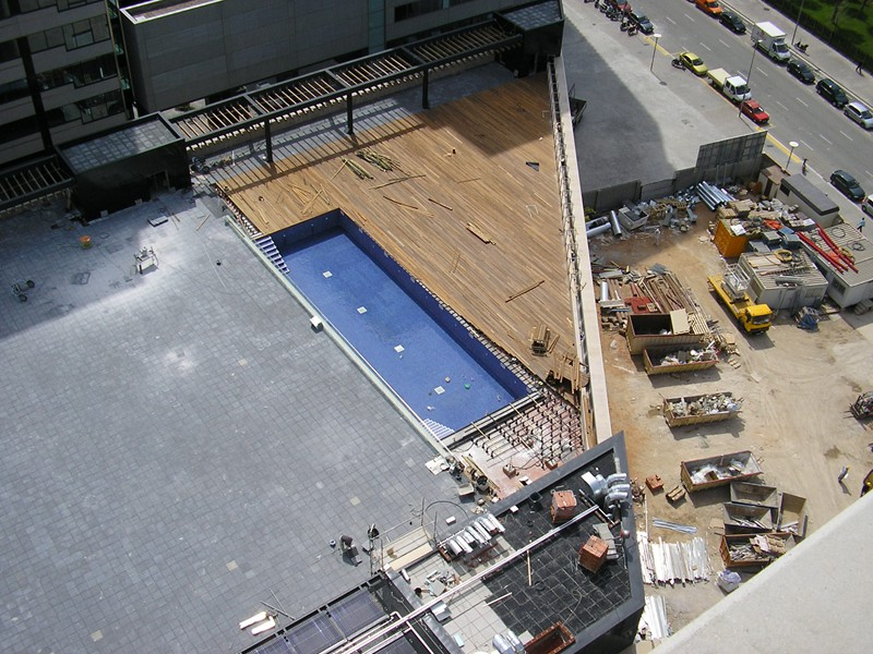 piscina terraza hilton diagonal mar (5)
