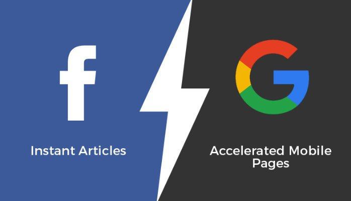 facebook instant articles y google amp