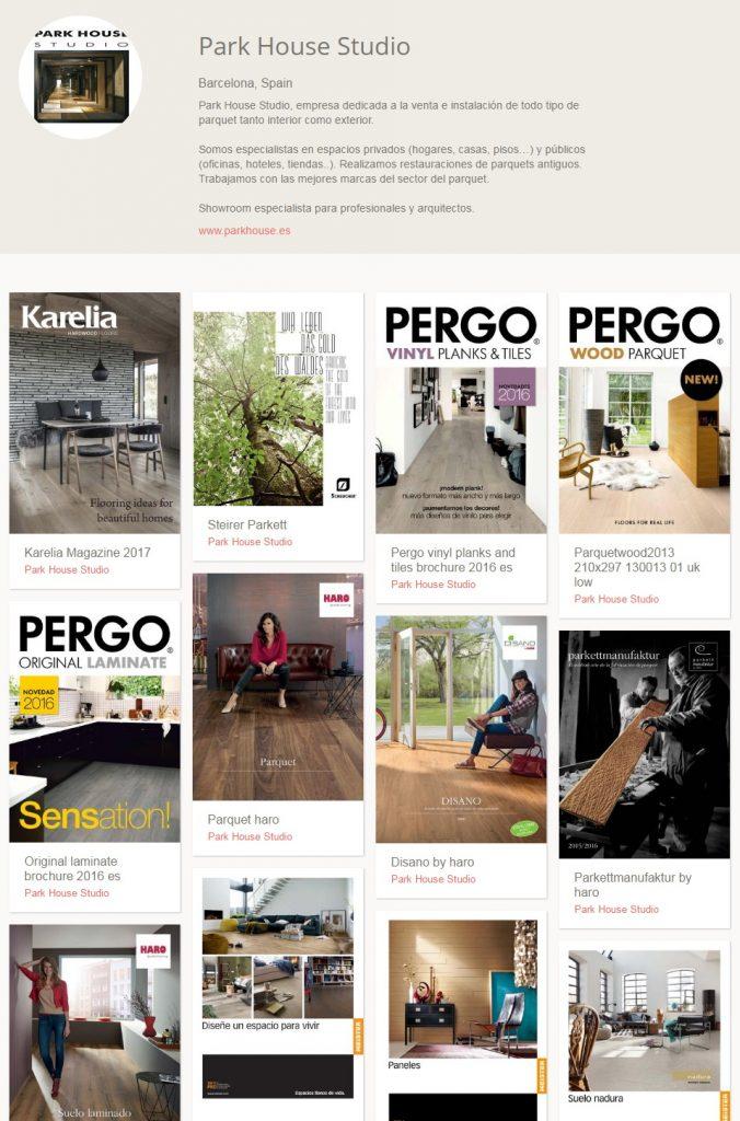 página de issuu parkhouse