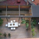 pergola en terraza interior